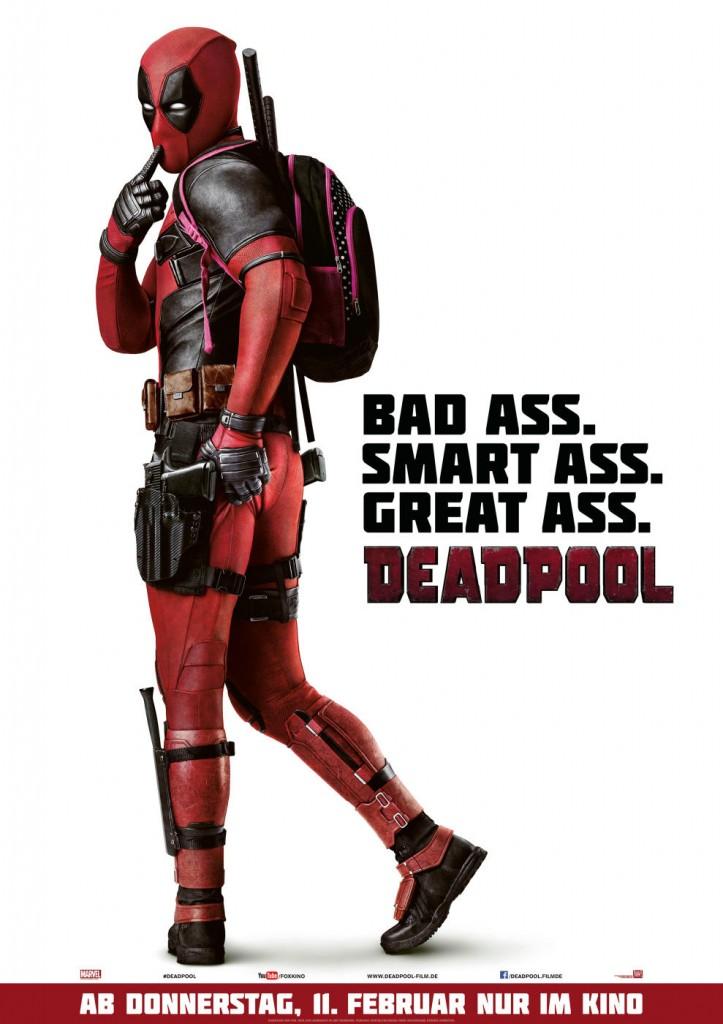 Filmplakat Deadpool - Bildquelle Moviepilot.de
