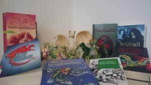 Drachenreiterins Drachenwelt - erste Buchauswahl