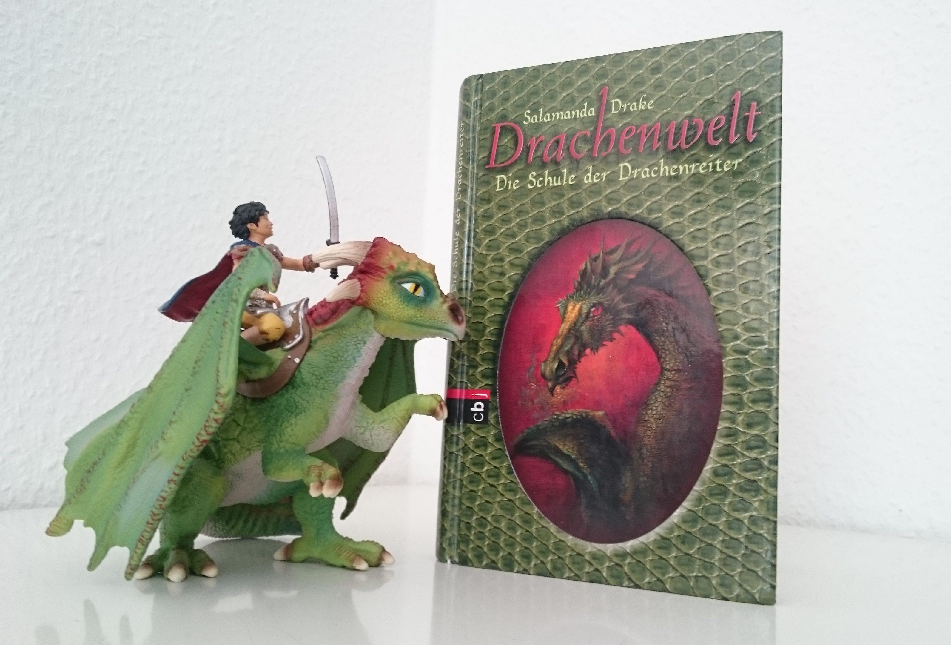 Drachenwelt - Die Schule der Drachenreiter - Salamanda Drake