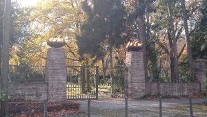 Totensonntag 2016 - Nordfriedhof Bonn - Tor zum Ehrenfriedhof