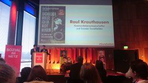 Raul Krauthausen auf dem Fachtag #sozialimnetz