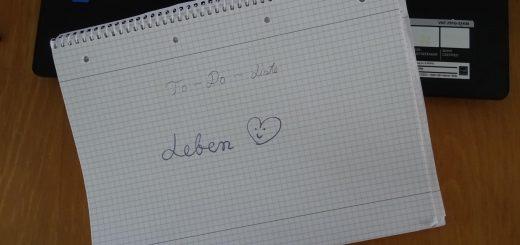 To-Do-Liste => Leben