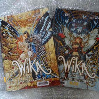 Wika und Oberons Zorn (Band 1) - Wika und die schwarzen Feen (Band 2) - Thomas Day & Olivier Ledroit