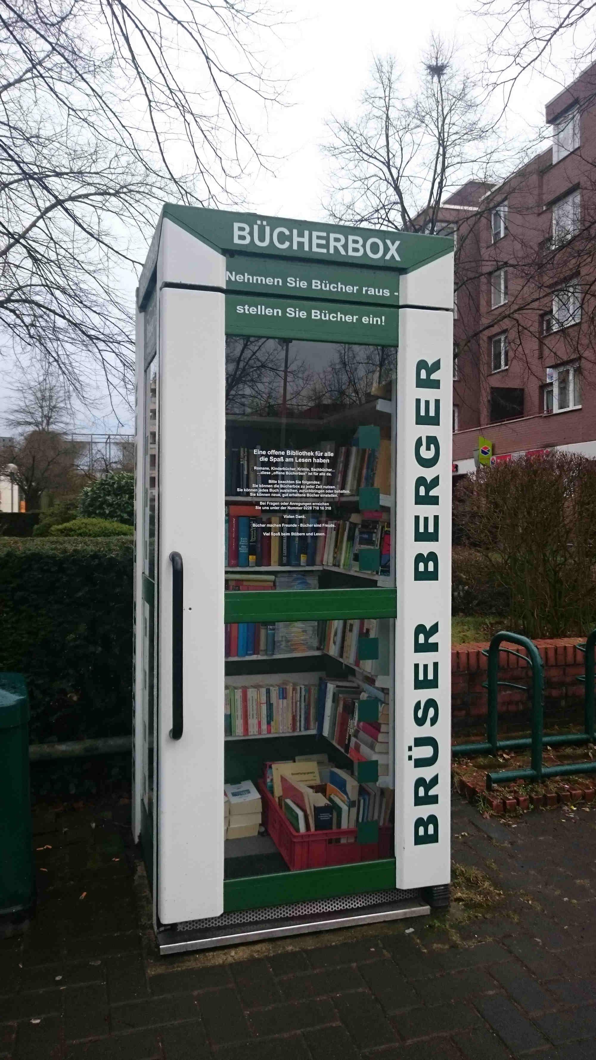 Brüser Berger Bücherschrank, Bonn
