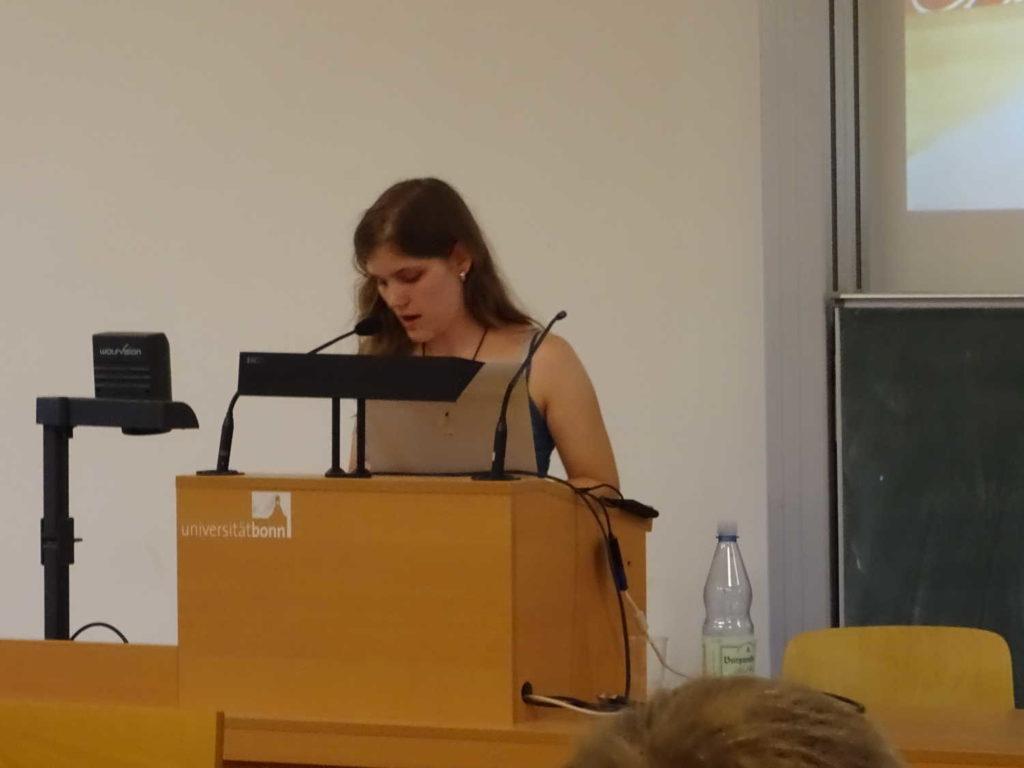 """Nina Reinheimer liest """"Der erste Pfeil"""""""