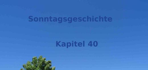 Blogroman kleiner Komet Sonntagsgeschichte