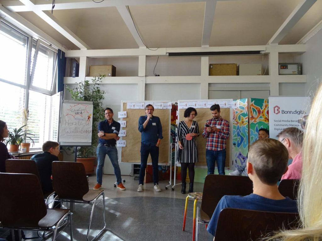FutureCamp18 - Begrüßung