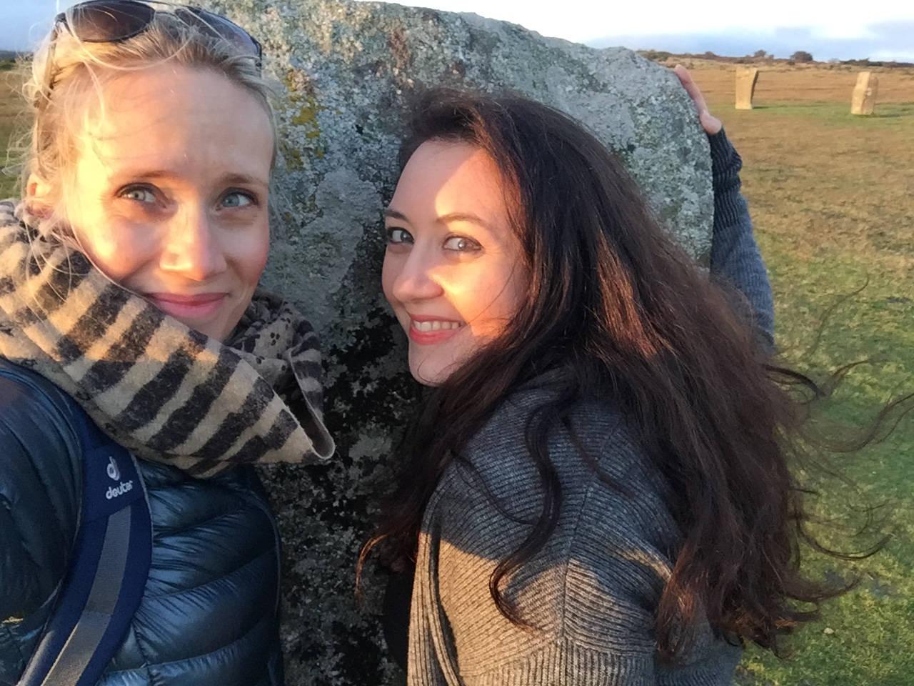 Ulli und Carmen in Cornwall (c) Rosen Snow