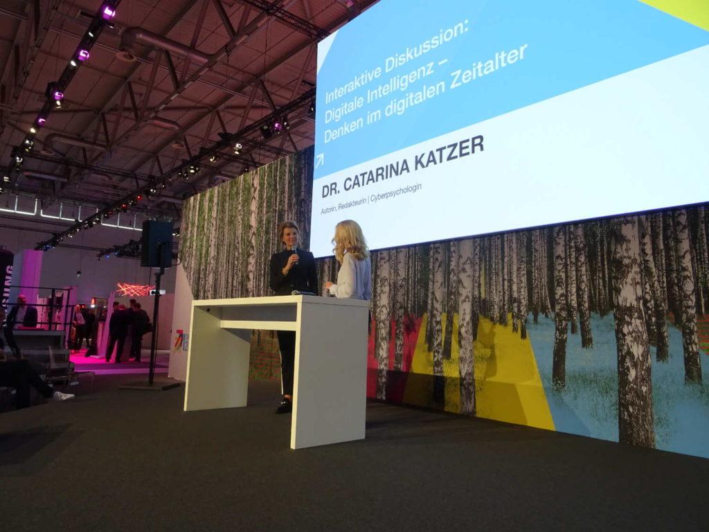 Dr. Catarina Katzer auf der Digital 2018