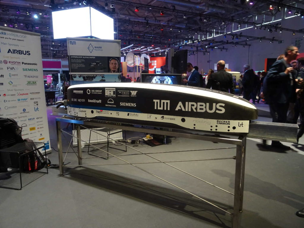 Hyperloop, Fortbewegung im Vakuum