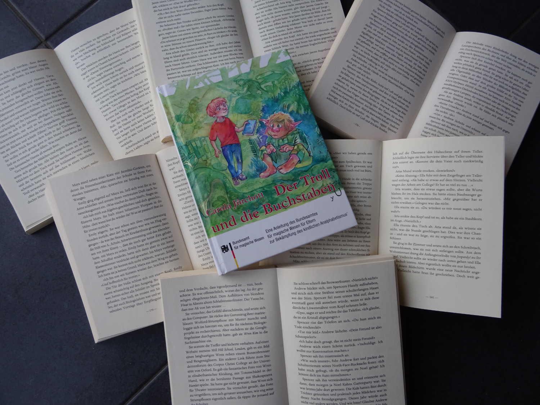 Der Troll und die Buchstaben ~ Caarola Jürchott