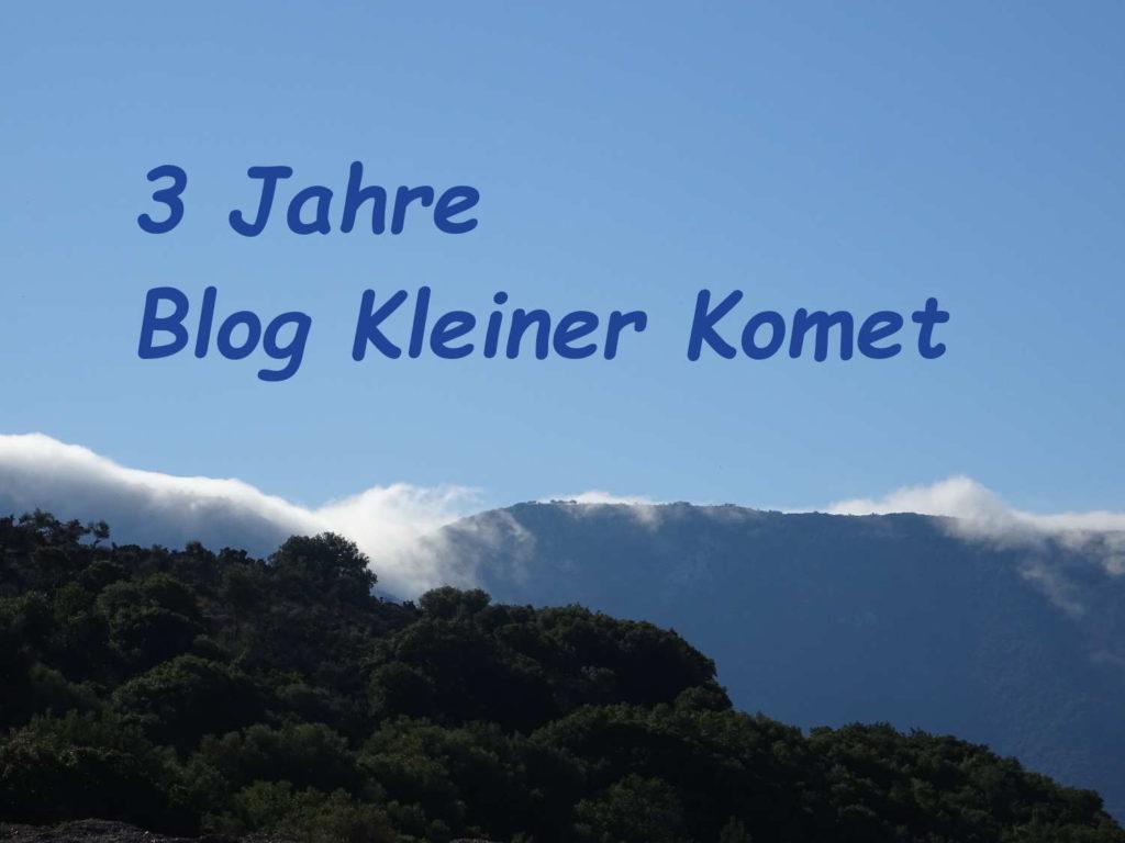 3 Jahre Blog Kleiner Komet