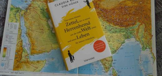 Von einem kleinen Zettel, der in einem Herrenhemd um die halbe Welt reiste und unser Leben für immer veränderte ~ Claudia Klütsch, Dirk Höner