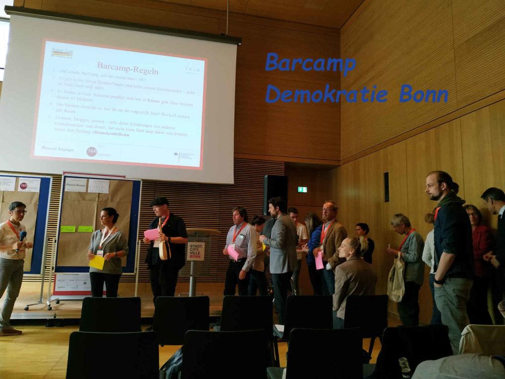 Barcamp Demokratie Bonn #DemokratieBonn