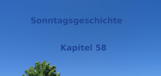 Sonntagsgeschichte Kapitel 58 Blogroman