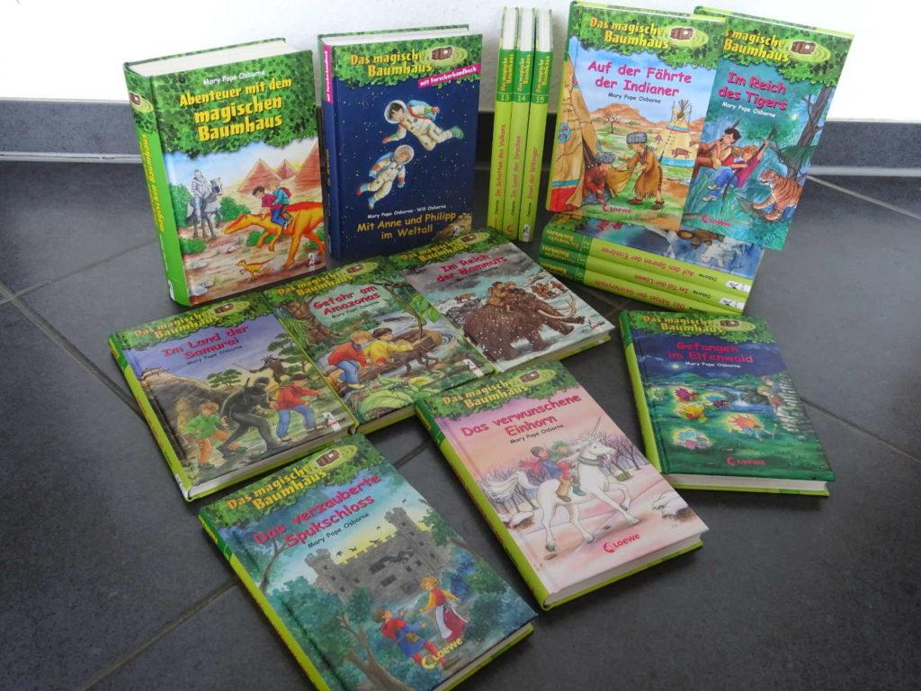 Unsere Bücher der Reihe: Abenteuer mit dem magischen Baumhaus ~ Mary Pope Osborne