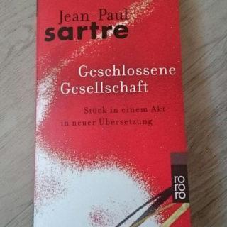 Geschlossene Gesellschaft ~ Jean-Paul Sartre