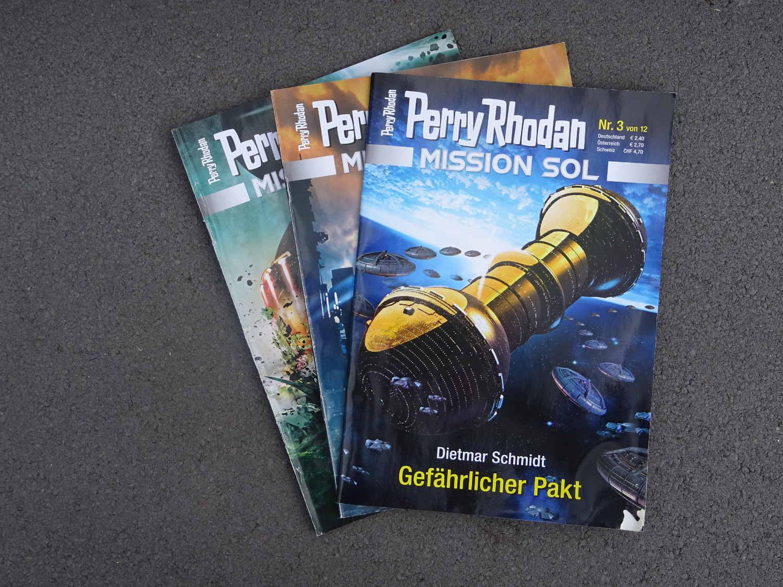 Perry Rhodan Mission Sol Gefährlicher Pakt ~ Dietmar Schmidt