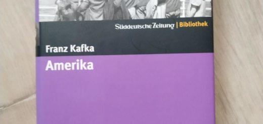 Franz Kafka, Amerika