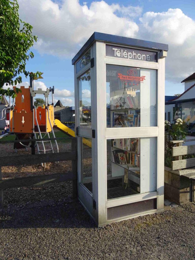 Bücherschrank Cadzand, Niederlande
