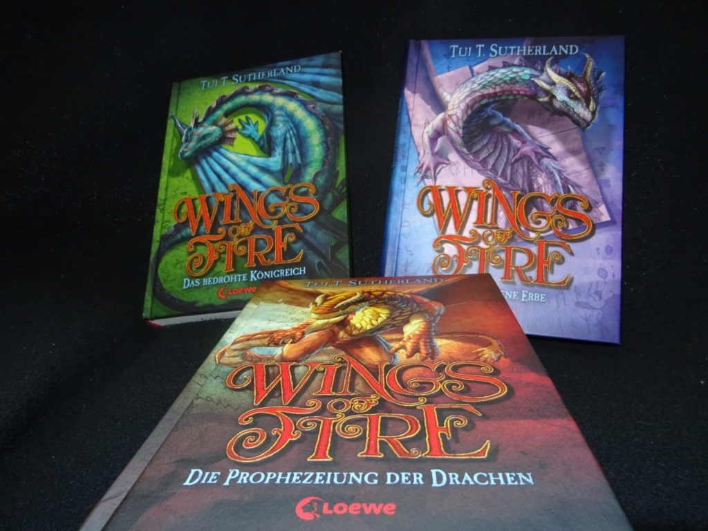 Wings of Fire 1-3 von Tui T. Sutherland