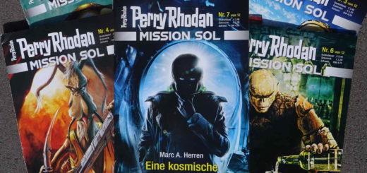 Perry Rhodan Mission Sol - Eine kosmische Bestimmung ~ Marc A. Herren