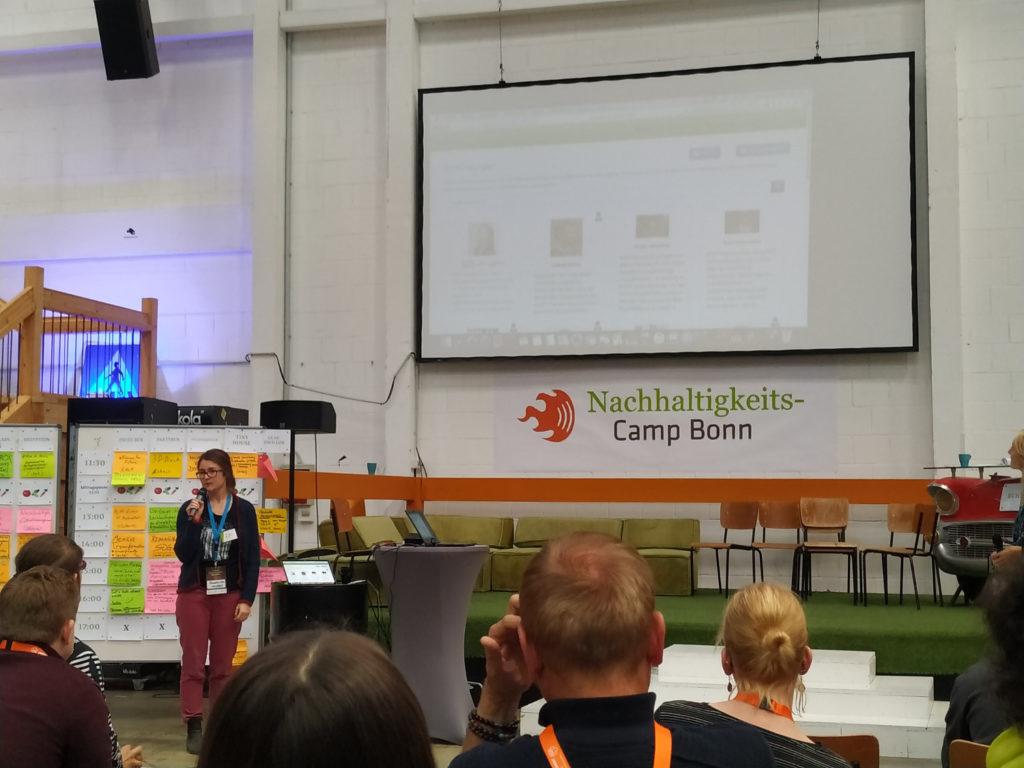 Franziska Kohn von Unity Effect spricht über die Netzwerk Map