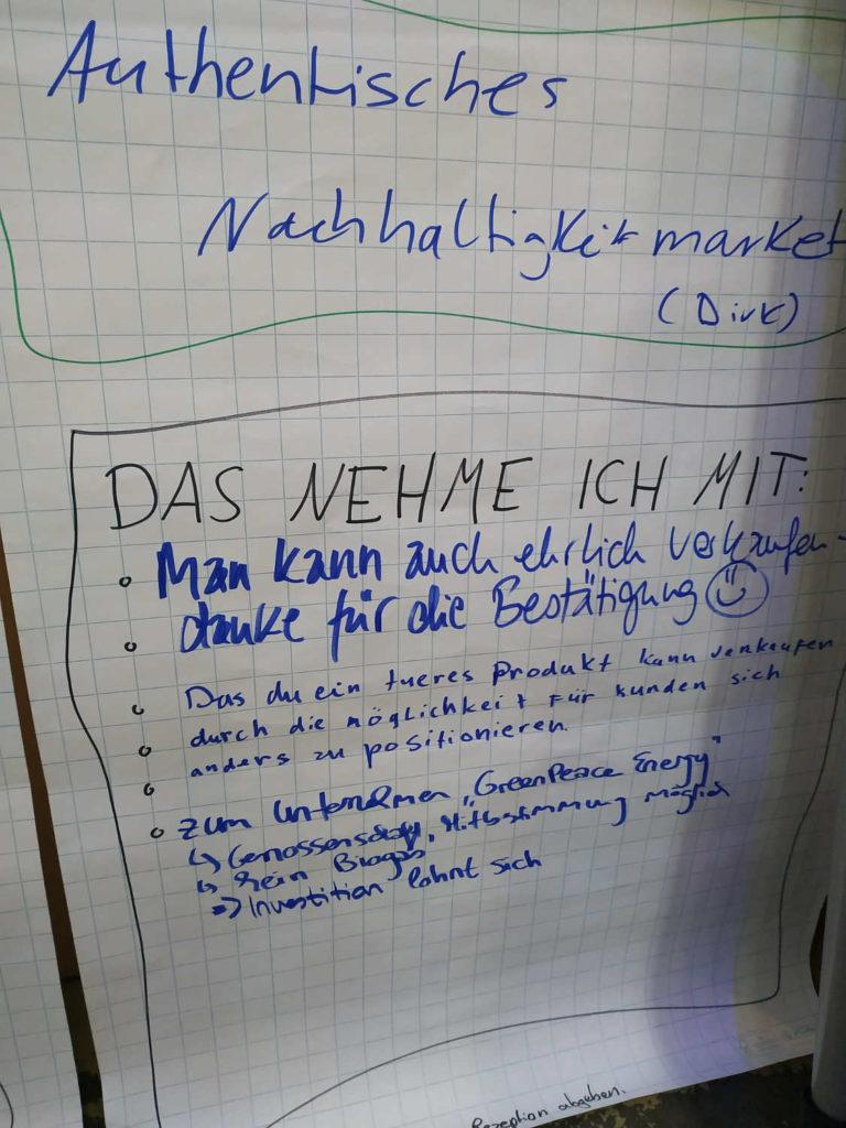 Authentisches Nachhaltigkeitsmarketing mit Dirk auf dem ncbn19