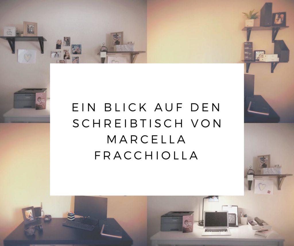 Ein Blick auf den Schreibtisch von Marcella Fracchiolla