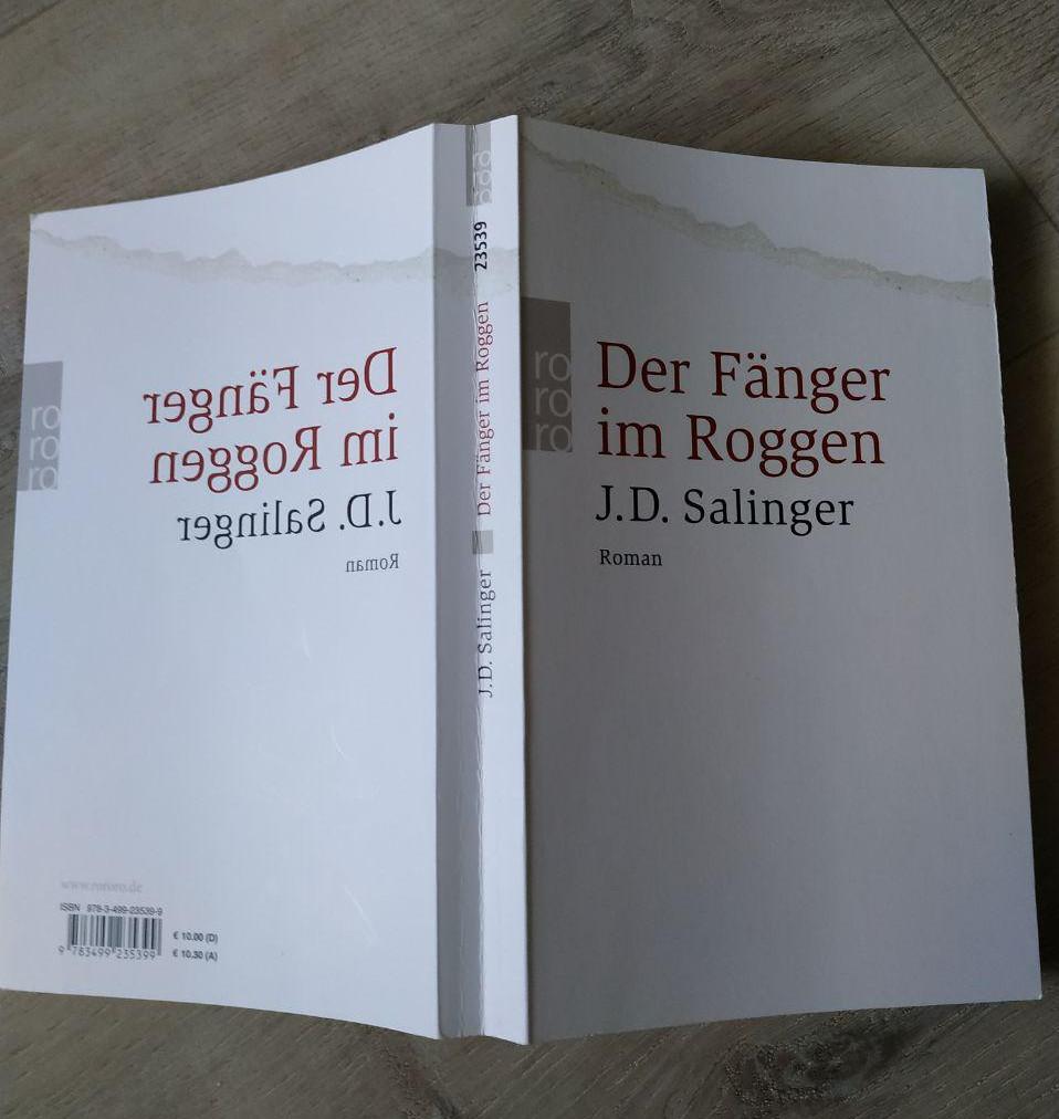 Der Fänger im Roggen ~ J.D. Salinger