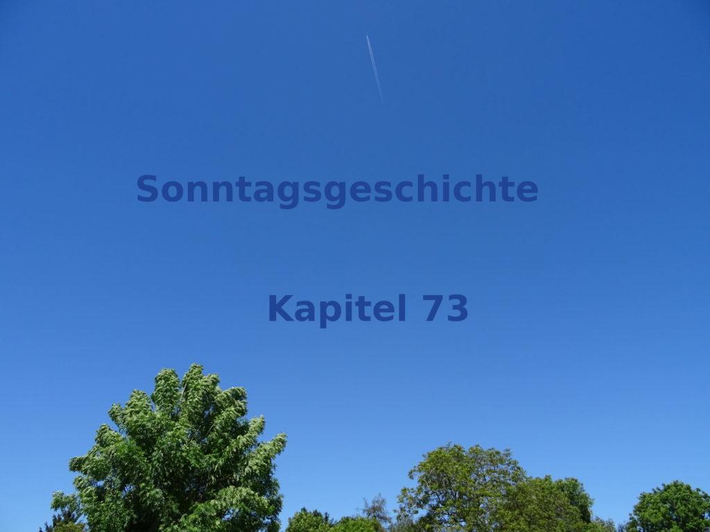 Blogroman Sonntagsgeschichte Kapitel 73 Verkatert