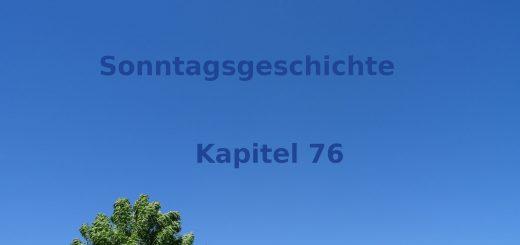 Blogroman Sonntagsgeschichte Kapitel 76 Verlust