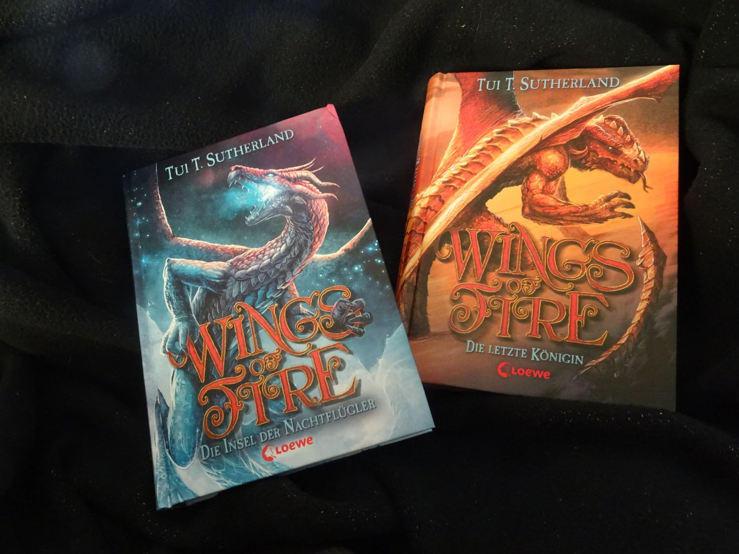 Wings of Fire 4 & 5 ~ Tui T. Sutherland