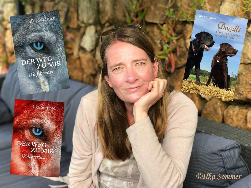 Ilka Sommer und ihre Bücher
