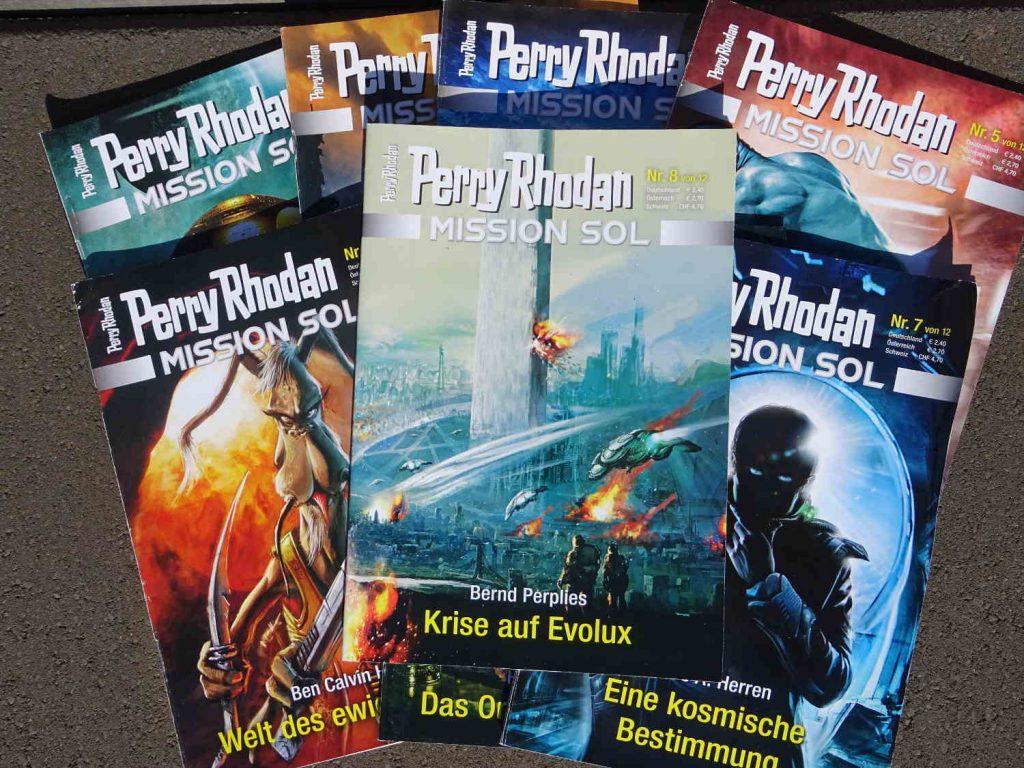 Perry Rhodan Mission Sol 8 Krise auf Evolux ~ Bernd Perplies