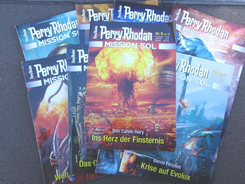 Perry Rhodan Mission Sol , Ins Herz der Finsternis ~ Ben Calvin Hary