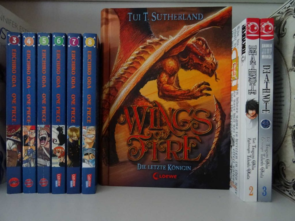 Drachenflug durch den Januar & Februar 2020, Wings of Fire, Manga