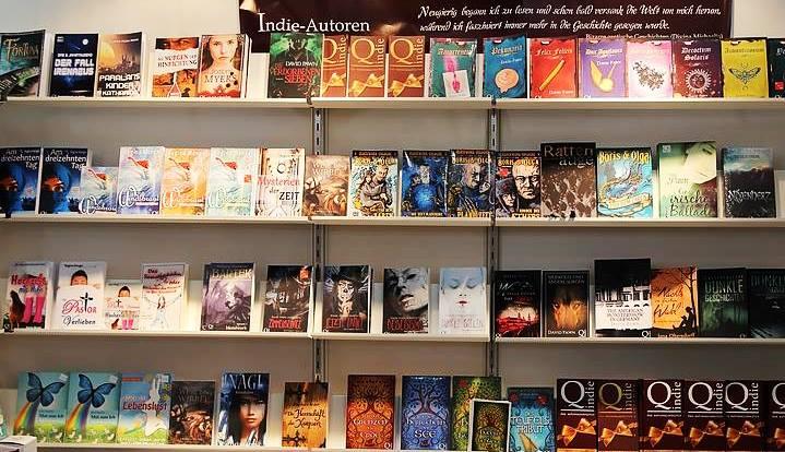Qindie Bücherreagel (c) Qindie