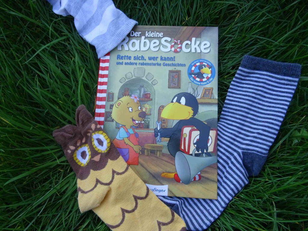 Der kleine Rabe Socke - Rette sich wer kann und andere rabenstarke Geschichten ~  Nele Moost