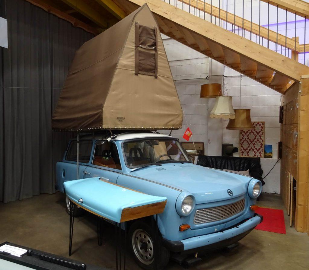 Trabbi im Basecamp Bonn