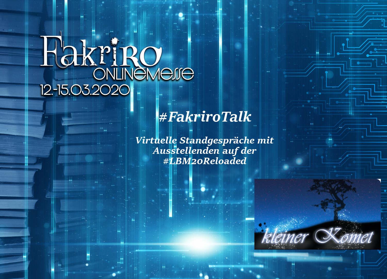 Fakriro Onlinemesse #FakriroTalk Virtuelle Standgespräche auf der #LBM20Reloaded