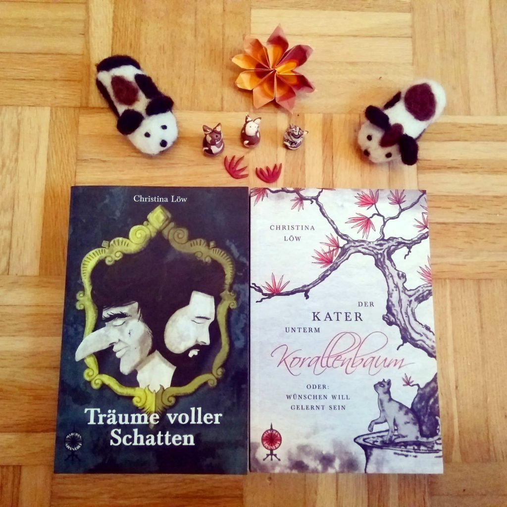 Träume voller Schatten & Der Kater unterm Korallenbaum ~ Christina Löw (c)