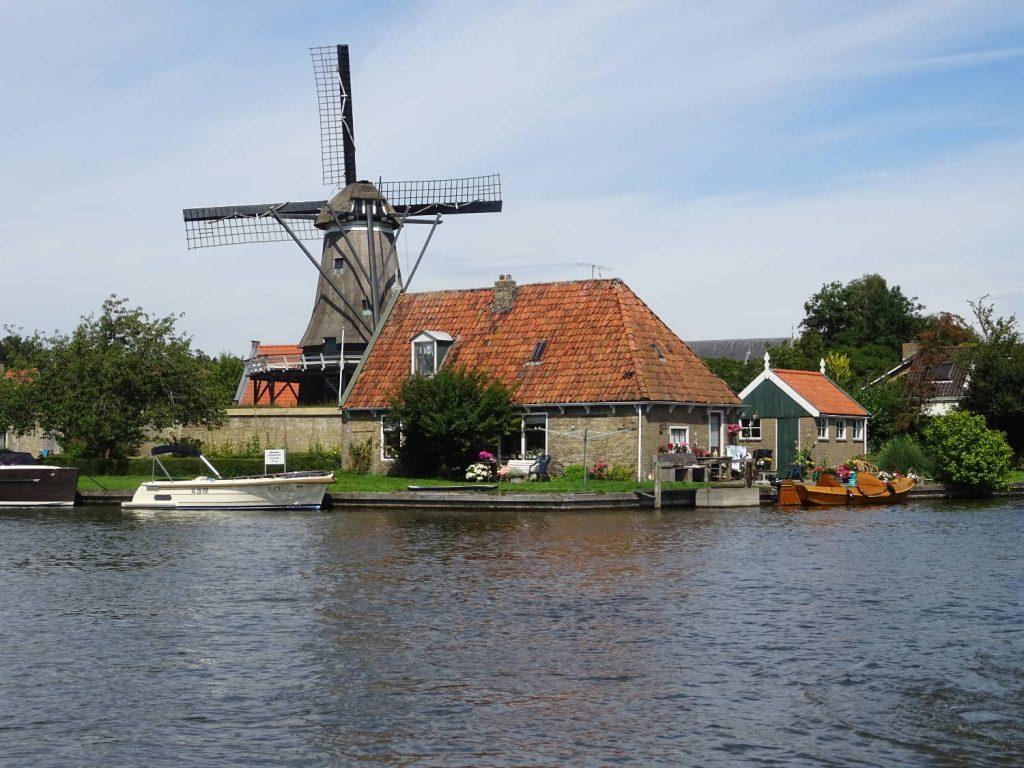 Mühle, Friesland, Niederlande