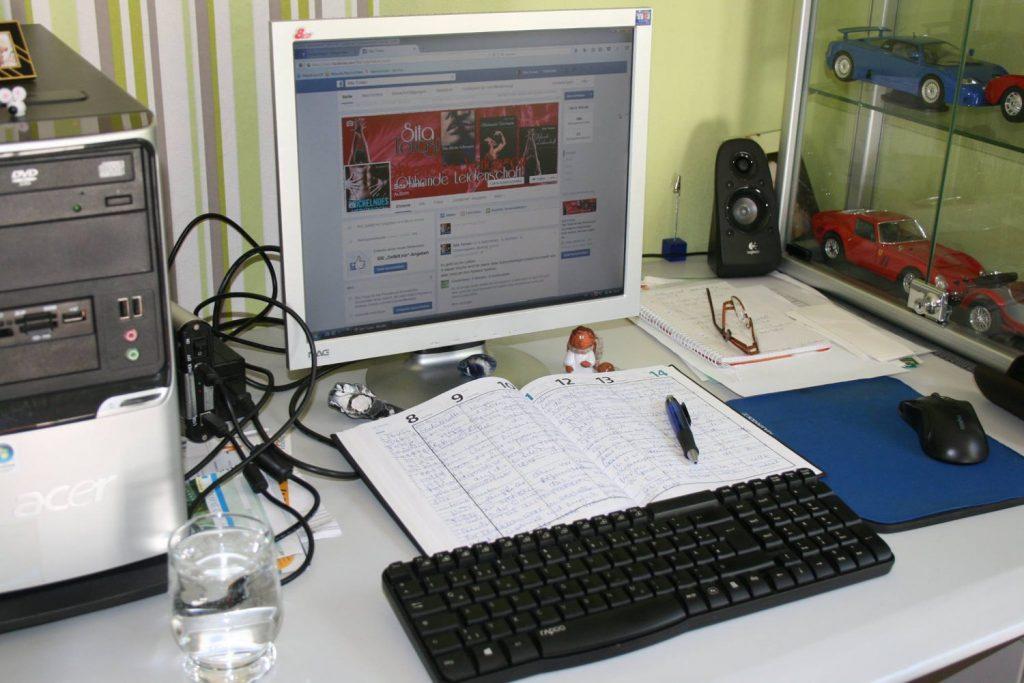 Schreibtisch von Rosita Hoppe