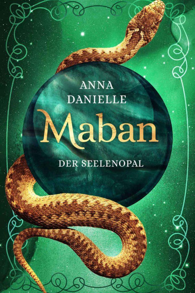 Maban - Der Seelenopal (c) Cover by Casandra Krammer
