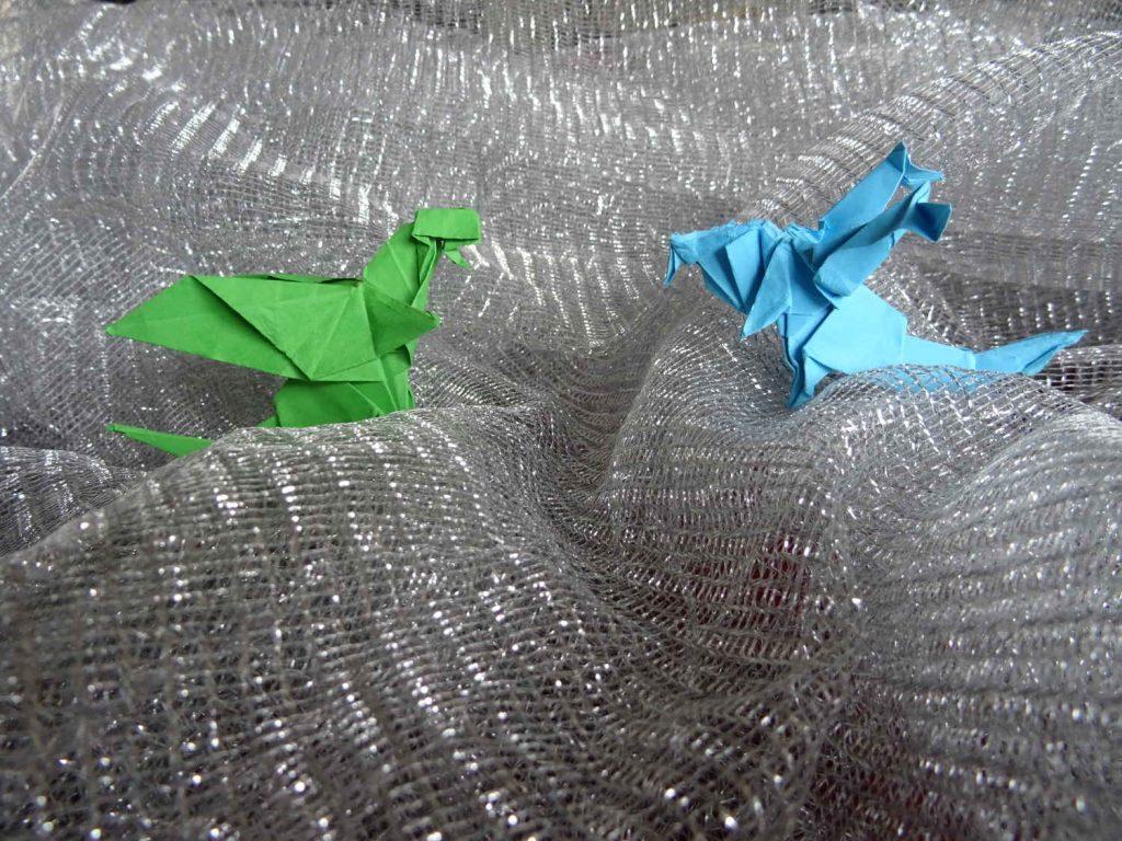 Origami Drachen