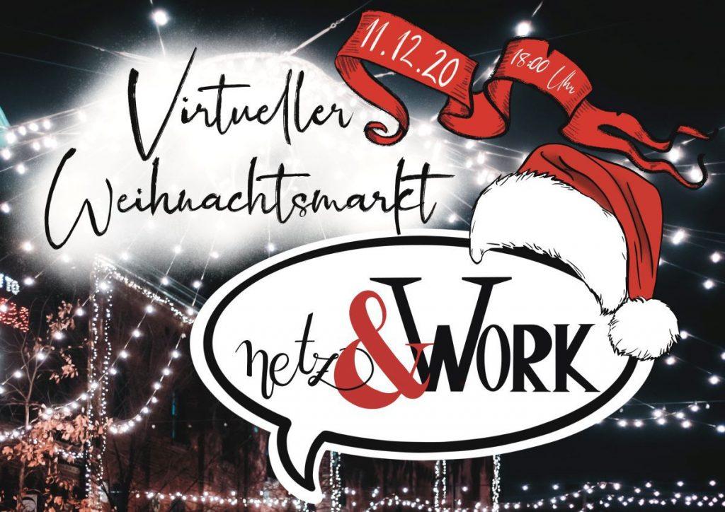 virtueller Weihnachtsmarkt von Netz& Work and Friends