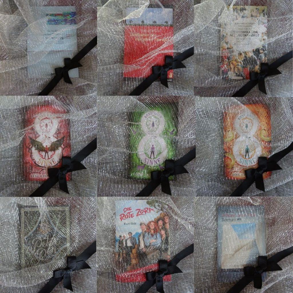 FrühjahrsputzBingo - Meine Karte mit 9 Büchern