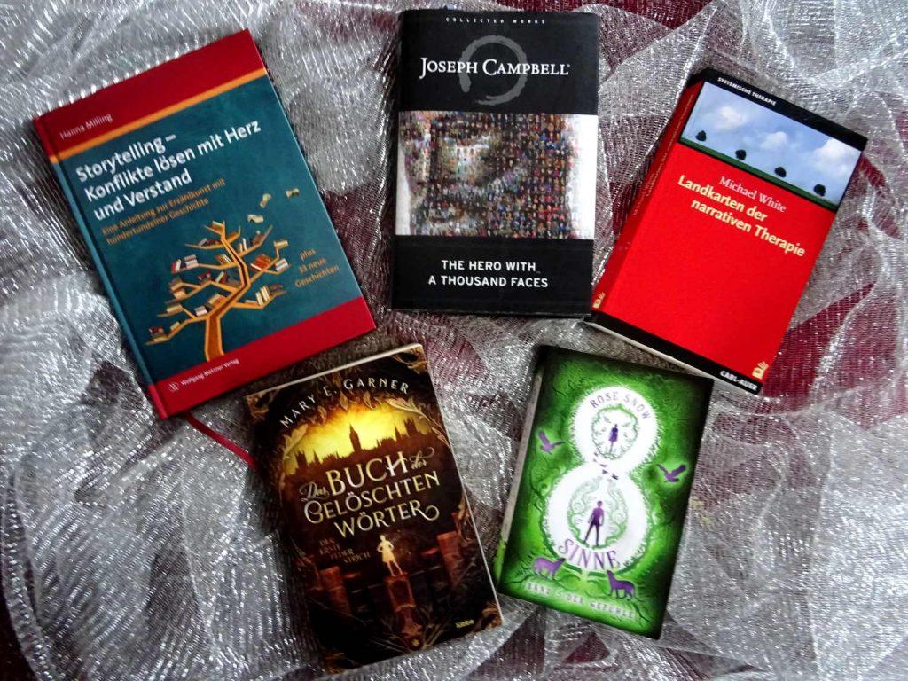 5 Bücher, die im Beitrag erwähnt werden