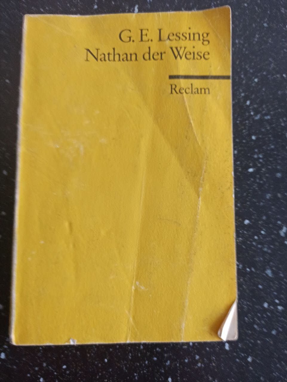 Nathan der Weise ~ Gotthold Ephraim Lessing